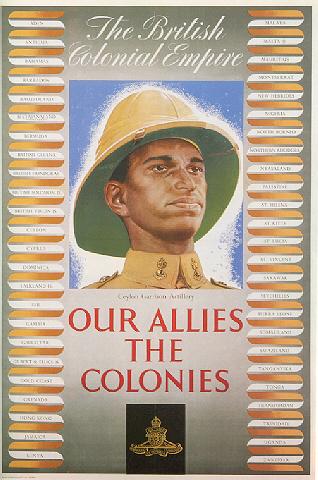 Colonies Ceylon Poster