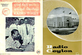 Vernon Corea on Radio Ceylon