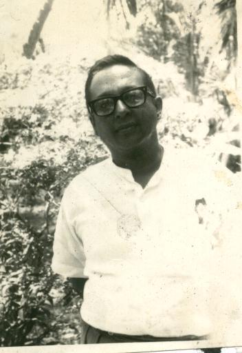 Vernon Corea in Maha Nuge Gardens