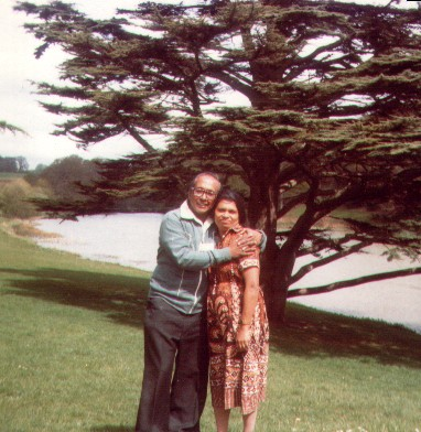 Vernon and Monica Corea