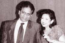 The late Tony Fernando and Mignonne Fernando
