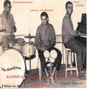 Nimal Mendis with the Kandyans in the 1950s. Broadcaster Vernon Corea helped to make Nimal a houseld name in Sri Lanka by playing all his records on his radio programmes on Radio Ceylon in the 1950s and 1960s.