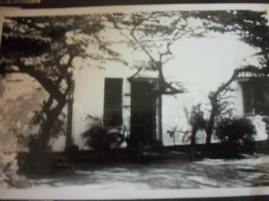 This photograph was taken in the early 1970s when Sri Lankan broadcaster Vernon Corea was living in the historic house - 5 Maha Nuge Gardens.