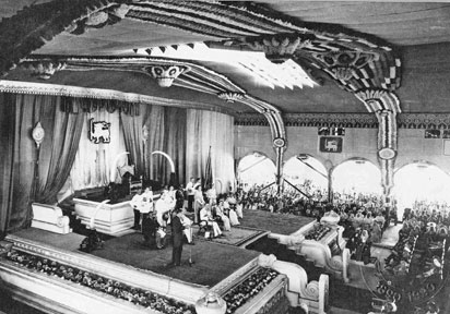The Independence of Ceylon - on 4th February 1948 - the ceremony in the Independence Hall in Colombo.