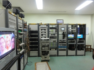 The Master Control Room at the Sri Lanka Broadcasting Corporation in Independence Avenue