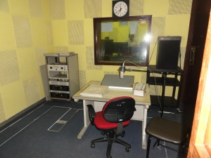 A studio at the Sri Lanka Broadcasting Corporation