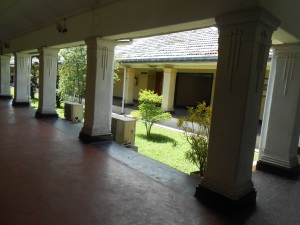 The historic and imposing corridors of the Sri Lanka Broadcasting Corporation formerly Radio Ceylon