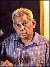 Vernon Corea knew the celebrated Sri Lankan film director G.D.L.Perera who directed 'Rata Giya Aththo.' (Courtesy Sunday Observer Sri Lanka)
