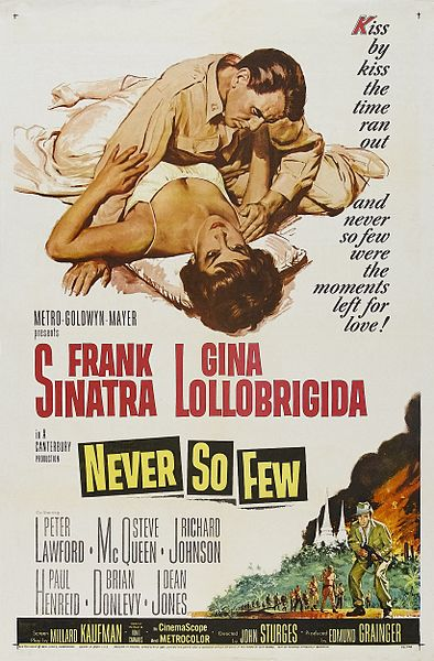 Frank Sinatra visited Ceylon to film Never So Few.