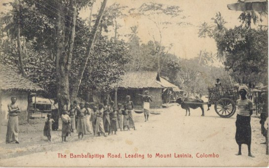 Harper may have visited Bambalapitiya in Colombo - this photograph was taken in 1910.