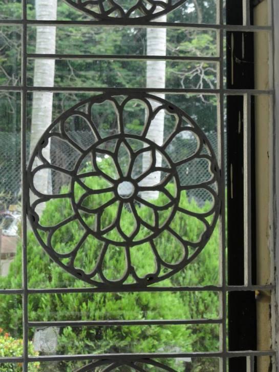 The windows of St.Luke's Church Borella were designed by Reverend Canon Ivan Corea.