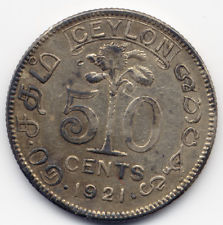 Edward Harper would have used these coins from Ceylon from 1921.