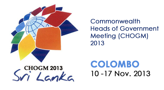 CHOGM 2013 will be held from 10-17 November 2013 in Colombo Sri Lanka