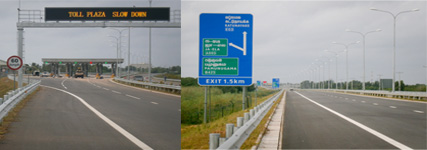 A new Colombo-Katunayake Expressway was launched in time for CHOGM 2013. (Photo courtesy of RDA)