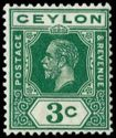 A Stamp from Ceylon from 1921 - Edward Harper would have certainly used these stamps.