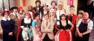 Vernon Corea was invited to meet the entire cast of the ITV hit 'Mind Your Language.'