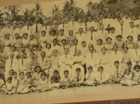 Hundreds of people attended St. Luke's Church Borella when Reverend Canon Ivan Corea was Vicar. St. Luke's had one of the largest church congregations in Sri Lanka from the 1940s-1950s.