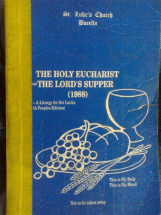 The Holy Communion Prayer Book of St.Luke's Church Borella