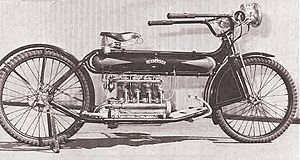 Charles Stearns Clancy rode a 1912 Henderson Motorcycle like this one in  Sri Lanka in 1912.
