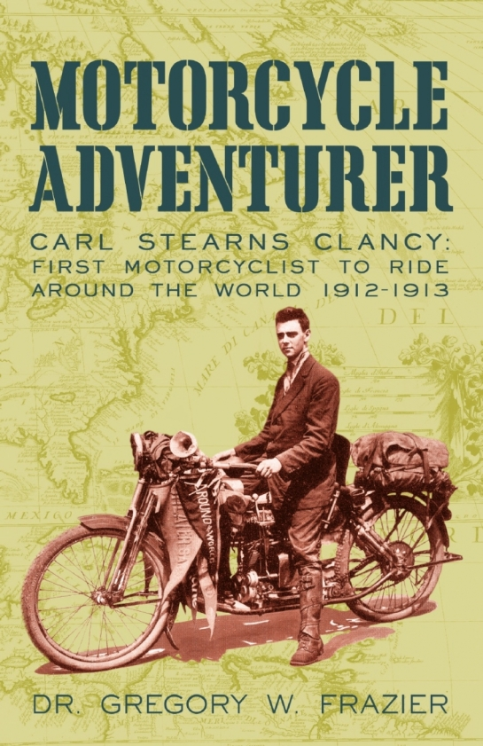 Carl Stearns Clancy the American motorcycle adventurer visited Ceylon in 1912.