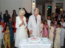 Prince Charles celebrates his 65th Birthday in Sri Lanka.