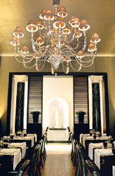 The beautiful restaurant at Tintagel in Colombo - photo courtesy of the Sunday Times Sri Lanka.
