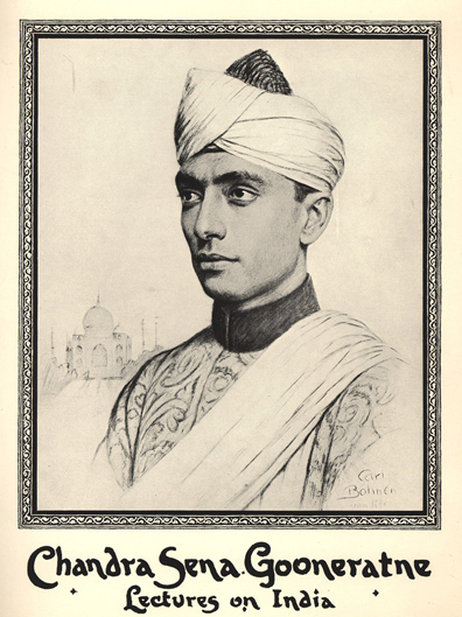 Chandra Dharma Sena Gooneratne wore a turban when he was a student in the US in the 1920s in order to avoid racism in the deep South.