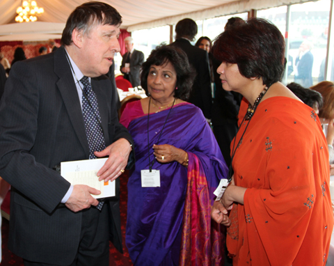 Lord Colin Low here with DABAL leading light Mrs Nadani Welikela is Patron of the charity. Lord Lord has been a tireless campaigner for the differently abled in the United Kingdom.