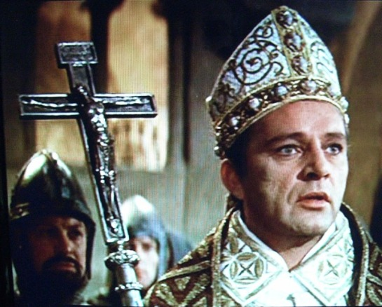 Richard Burton is magnificent in 'Becket' a film on the life of the Archbishop of Canterbury.