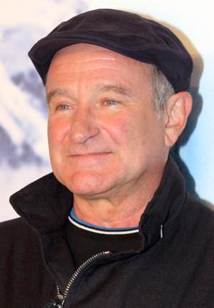 Robin Williams (July 21, 1951 – August 11, 2014) Photograph courtesy of Flickr/Wikipedia