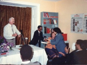 BBC Broadcaster Vernon Corea here as a Chief Guest at a Broadcasting Prize Giving Event in the UK.